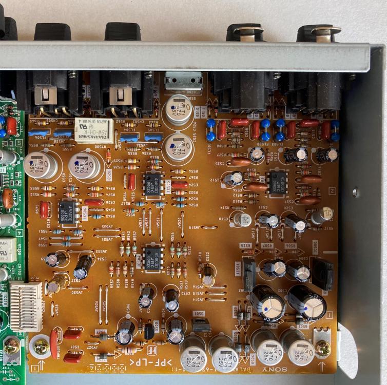 MDS-E12 balanced I/O PCB