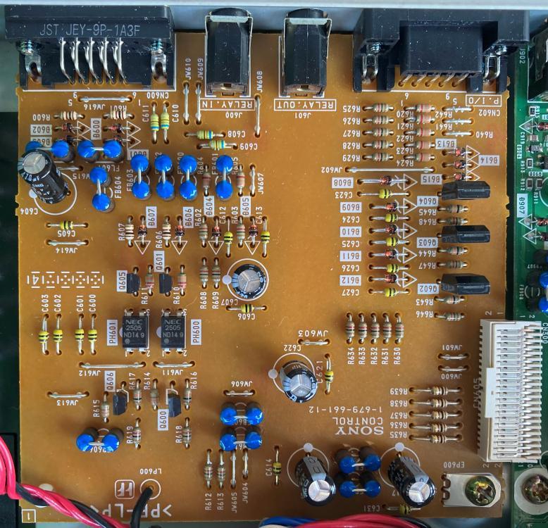 MDS-E12 external control PCB
