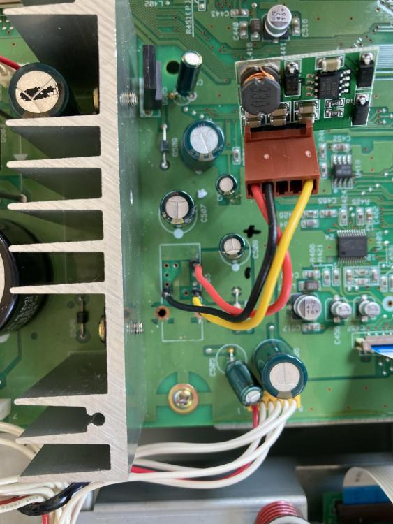 MD-801R fluorescent -30V mod