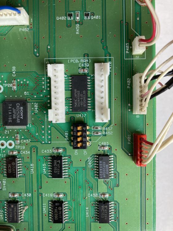 MD-801R BU-801 buffer RAM headers